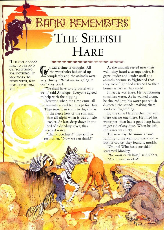 The Selfish Hare