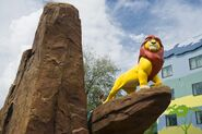 Mufasa Priderock Disney Parks