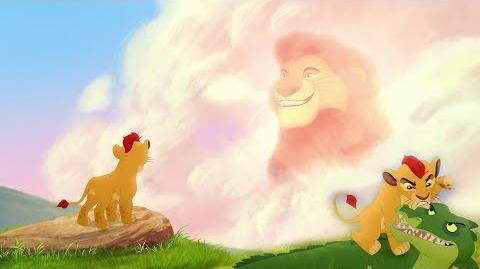 Lion Guard Kion is wrong & Mufasa's Advice The Savannah Summit HD Clip