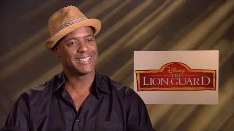 Blair Underwood on his role as Makuu from The Lion Guard