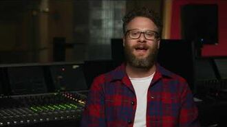 THE LION KING - Seth Rogen Interview