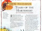 Tears of the Hartebeest