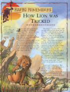 How Lion was Tricked 1