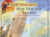 How Lion was Tricked