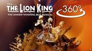 'Circle of Life' in 360º THE LION KING on Broadway