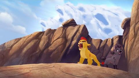 Kion's Roar of the Elders - Never Judge a Hyena By Its Spots Lion Guard HD Clip