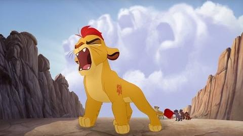 Kion's Roar of the Elders - Lions of the Outlands Lion Guard HD Clip