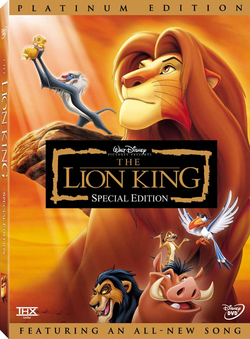 The Lion King Special Edition DVD