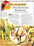 The dancing elephant
