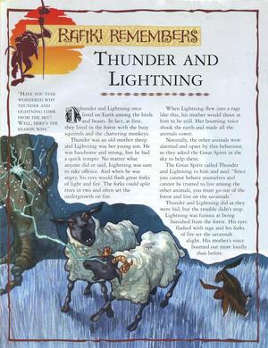 Thunder and Lightning 1
