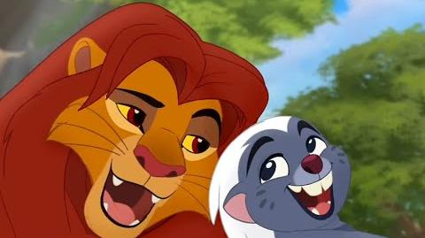 Lion Guard HAKUNA MATATA! Bunga and the King Song Clip