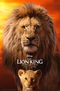TLK Simba & Mufasa Poster 2019