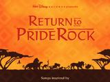 Return to Pride Rock