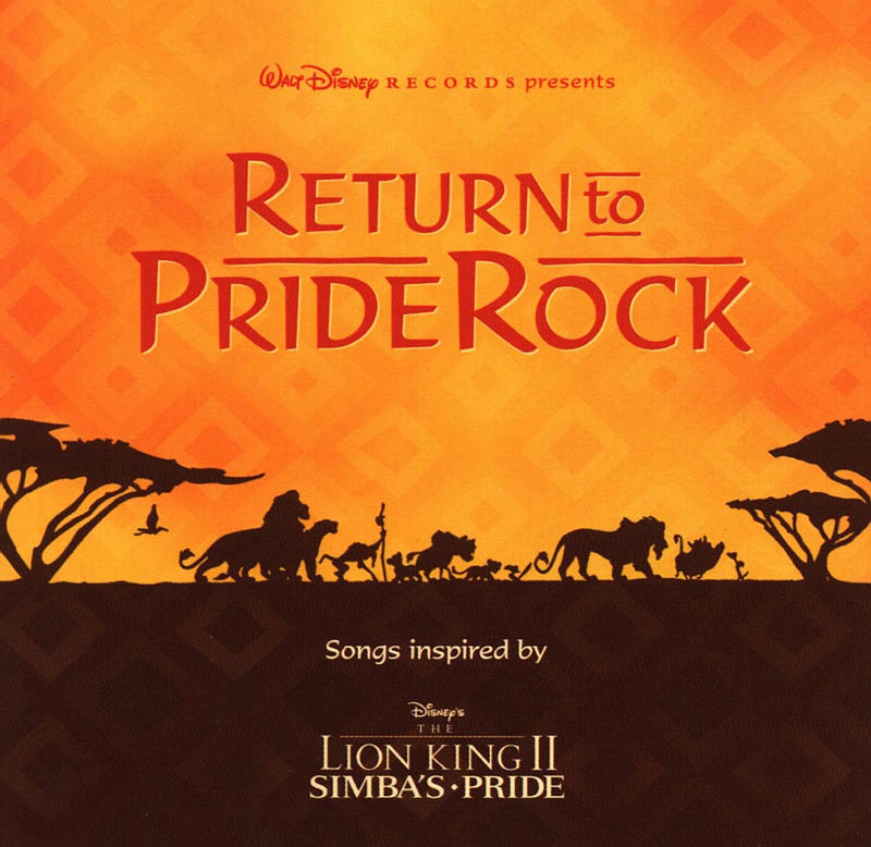 the lion king ii: simbas pride we are one