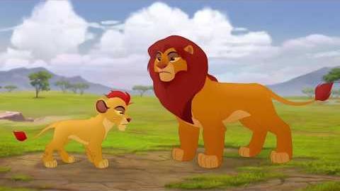 The Lion Guard Savannah Summit - Simba Explains Scene HD