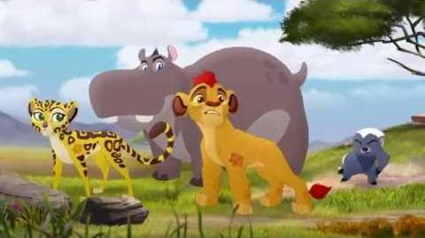 Lion Guard- S1 EP 15 HD Clip Panic and Run