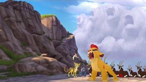 Kion's Roar of the Elders - Beshte and the Hippo Lanes Lion Guard HD Clip