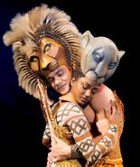 Simba Nala stage musical