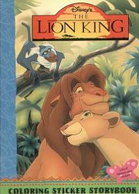 TLK Coloring Sticker Storybook