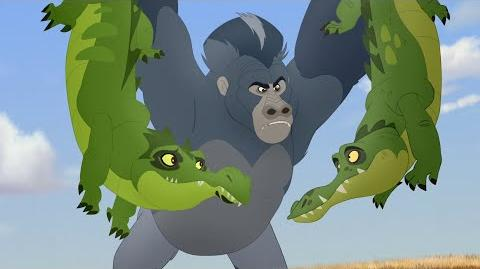 Lion Guard Shujaa Defend! Beshte and the Beast HD Clip