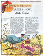 Guinea Fowl and Crab 1