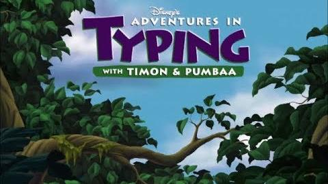 Adventures in Typing with Timon and Pumbaa - Full Playthrough