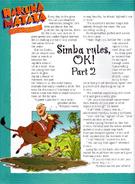 Simba Rules 5