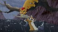 Lion Guard Flash Flood! The Mbali Fields Migration HD Clip
