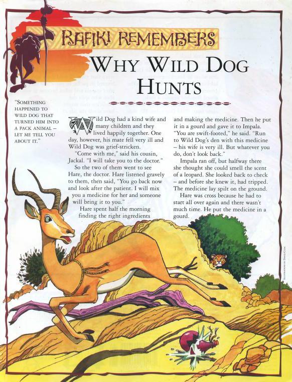 Why Wild Dog Hunts