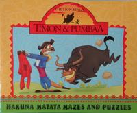 Hakuna Matata Mazes and Puzzles