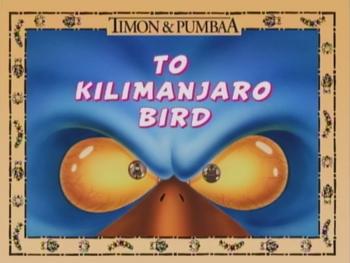 ToKilimanjaroBird