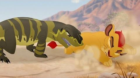 Lion Guard Kenge's Attack The Bite of Kenge HD Clip
