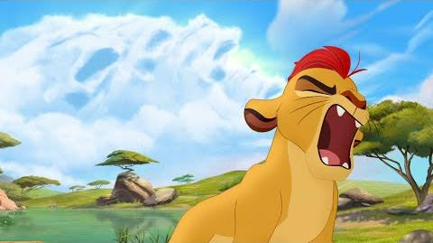Kion's Roar of the Elders - The Rise of Makuu Lion Guard HD Clip