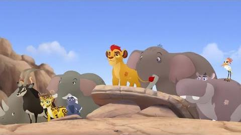 The Lion Guard Kion's Roar-Pridelanders Unite clip
