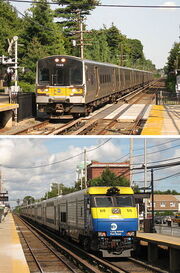 LIRR sampler electric and diesel services