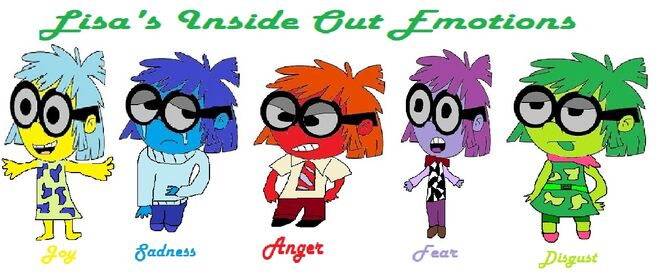 Lisa Loud's Inside Out Emotions