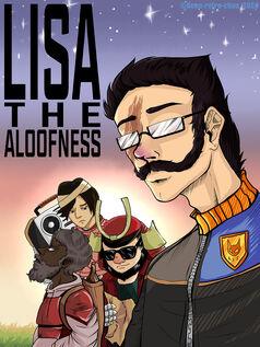 Lisa the Aloofness Logotype