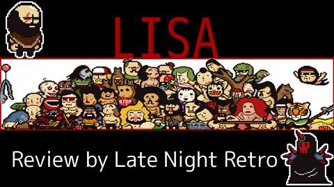 "LISA ""a painful RPG' REVIEW by Late Night Retro"