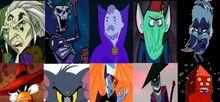 Cartoon villains defeat 17