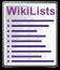 WikiLists