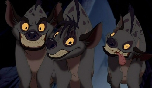 File:Hyenas from the Lion King.jpg