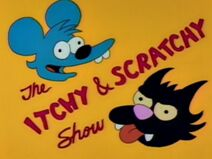 Itchy and Scratchy poster
