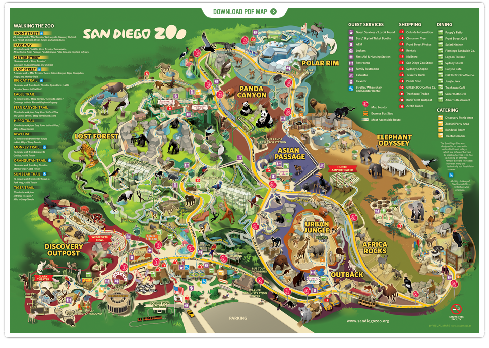 San Diego Zoo List of Major Zoos in the US Wiki FANDOM powered