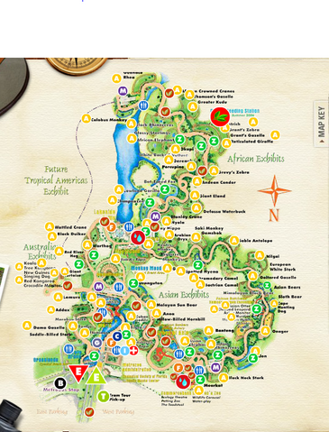 Image Zoo Miami Mappng List Of Major Zoos In The US Wiki - Us map miami