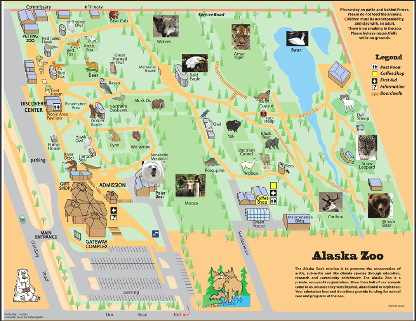 Alaska Zoo List of Major Zoos in the US Wiki FANDOM powered