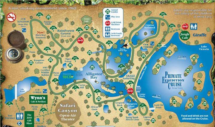 naples zoo florida map