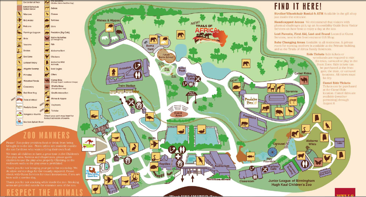Birmingham Zoo List of Major Zoos in the US Wiki FANDOM