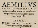 Aemilius Macer