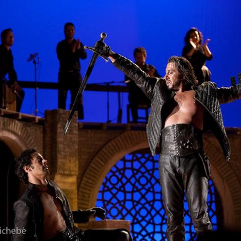 Représentation du <i>Cid</i>, version flamenco, de Thomas Le Douarec au Colisée 2012