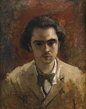 Verlaine 1867 Frédéric Bazille